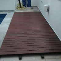 Deck em madeira sintética - In Brazil 2